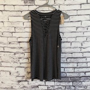 American Eagle Soft & Sexy Striped Tank NWT